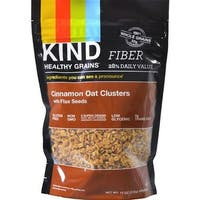 Kind Fruit and Nut Bars - Healthy Grains Cinnamon Oat Clusters With Flax Seeds ( 6 - 11 OZ)