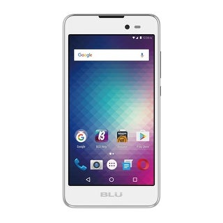 BLU Dash G D490L Unlocked GSM Quad-Core Dual-SIM Phone - White