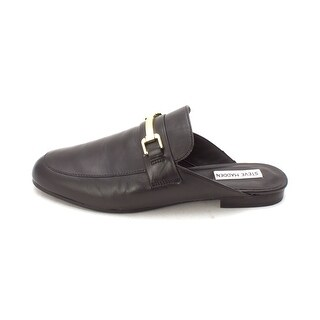 Steve Madden Womens brightly Leather Closed Toe Mules