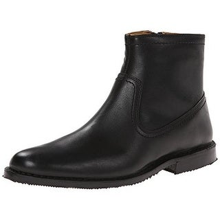 Sebago Mens Metro Zip Chelsea Boots Leather Side Zip