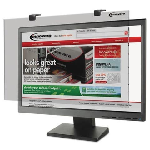 Innovera 46406 Protective Antiglare LCD Monitor Filter Fits 24 in. Widescreen LCD