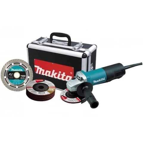 """Makita 9557PB Angle Grinder, 4-1/2"""", 7.5 Amp"""
