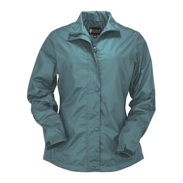 Outback Trading Jacket Womens Harper Packable Rain Waterproof
