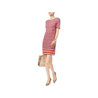 MICHAEL Michael Kors Womens Petites Special Occasion Dress Daytime Wear To Work