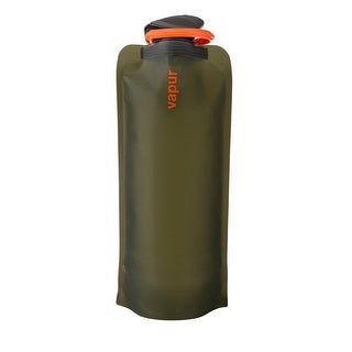Vapur Eclipse Wide Mouth Water Bottle, Olive Green, 1.0L