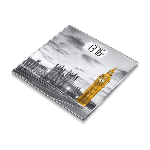 Beurer Glass Scale with City Design, GS203 London