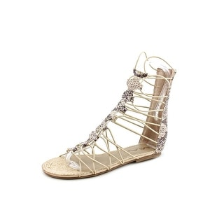 Mia Livi Women Open Toe Canvas Gladiator Sandal