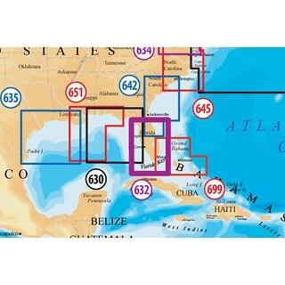 Navionics CF/632PP(Raymarine) Platinum Plus South and Central Florida