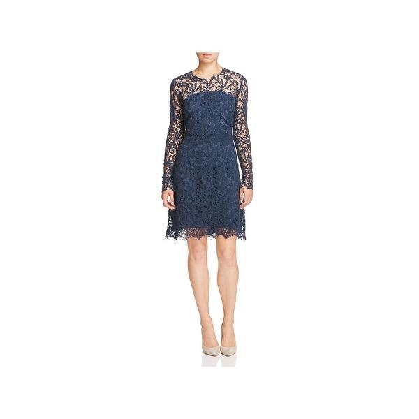 1f6c2c5f1f970 Shop Elie Tahari Womens Priscilla Party Dress Lace Floral - Free ...