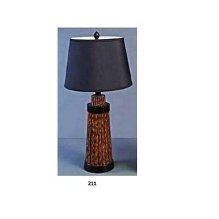 "28"" Polyresin Table Lamp"
