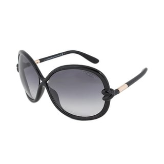 Tom Ford Womens Sonja Oversized Fashion Round Sunglasses - o/s