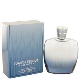 Realities Graphite Blue by Liz Claiborne Eau De Cologne Spray 3.4 oz - Men