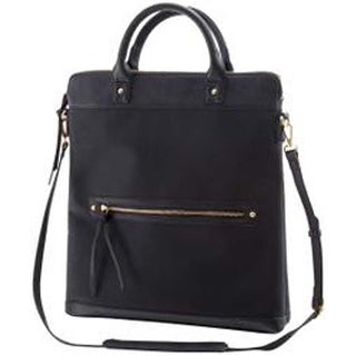 Black - See Jane Work Tall Laptop Business Bag