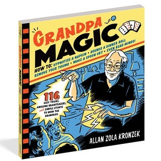 Grandpa Magic - Allan Zola Kronzek, Paperback Book, How to Do Magic Tricks