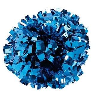 Pizzazz Metallic Royal Blue Cheer Single Pom Pom