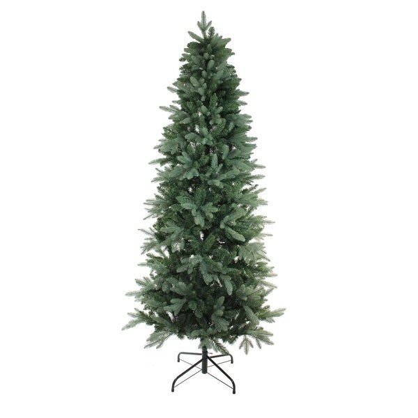 "7.5' x 43"" Washington Frasier Fir Slim Artificial Christmas Tree - Unlit - green"