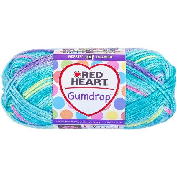 Red Heart Gumdrop Yarn-Smoothie