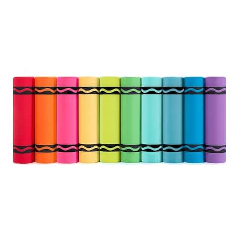 Crayola Crayon Bolster Pillow