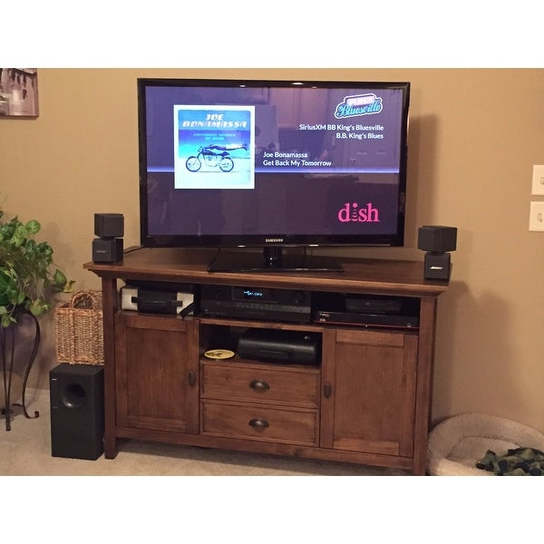 Shop Wyndenhall Mansfield 54 Inch Tv Media Stand For Tv S Up To 60