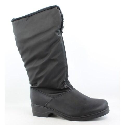 Tundra Womens Alice Black Snow Boots Size 8