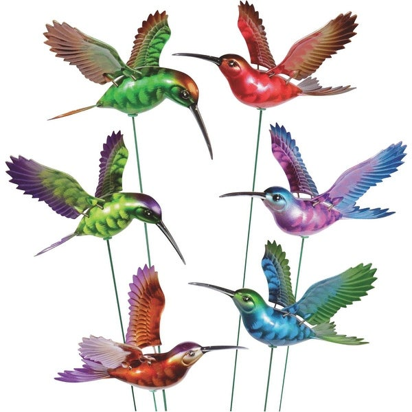 "Windy Wings 7"" Hummingbird Gdn Stake"