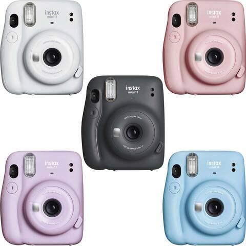 Fujifilm Instax Mini 11 Instant Camera Bundle Kit with 50 Total Films