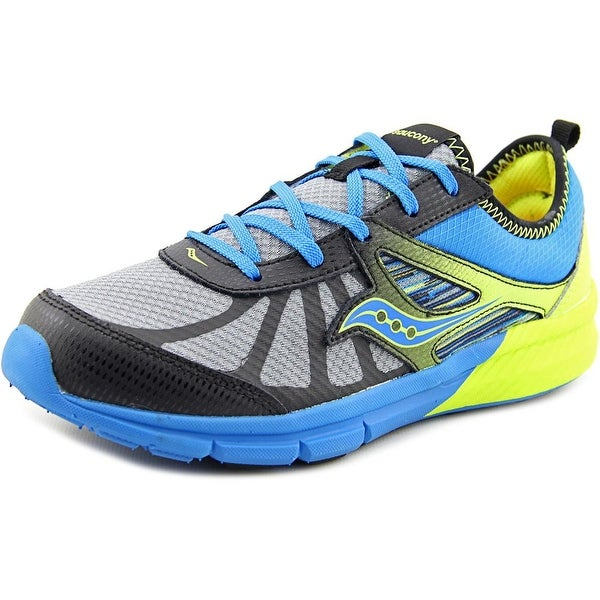 Saucony Boy Volt Youth W Round Toe Synthetic Multi Color Running Shoe