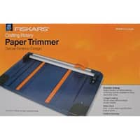 "45Mm - Desktop Rotary Paper Trimmer 12"" Fiskars"