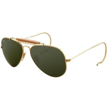 Ray-Ban RB3030 L0216 Outdoorsman Sunglasses 58MM - Gold