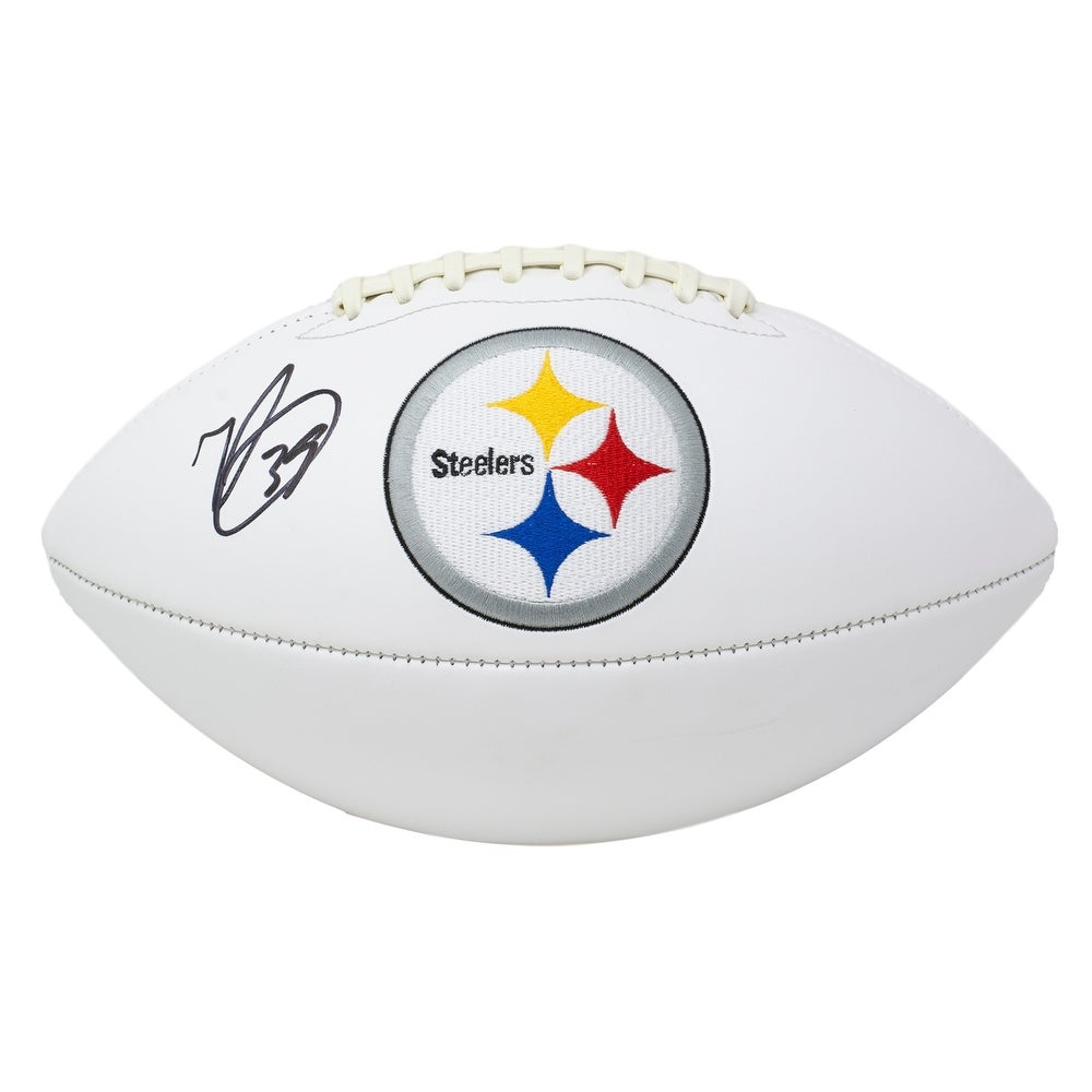 Minkah Fitzpatrick Signed Pittsburgh Steelers Full Size Logo Football BAS -  Overstock