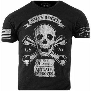 Grunt Style Jolly Roger T-Shirt - Black