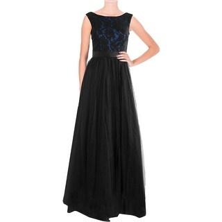 Aidan Mattox Womens V-Back Prom Semi-Formal Dress