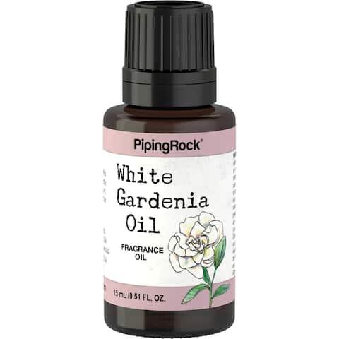 Piping Rock Gardenia Oil 100% Pure Fragrance Oil 15 mL/0.51 fl. oz. Dropper Bottle - 15 ML