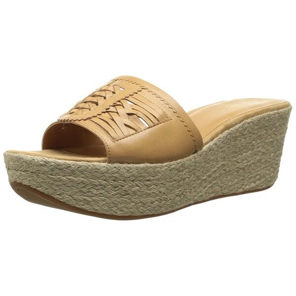 Nine West NEW Beige Women's Shoes Size 10M Raptor Leather Slides