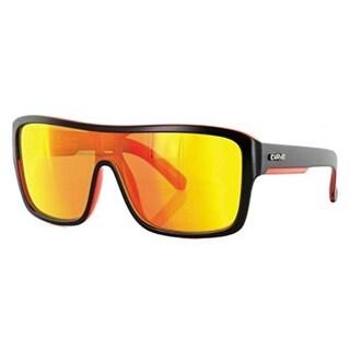 Carve Eyewear Anchor Beard Matte Black With Polycarbonate Orange Lens
