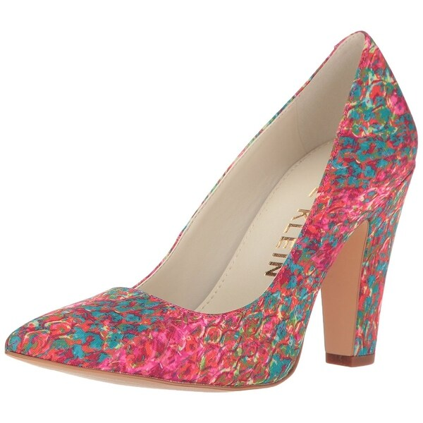 Anne Klein Womens Hollyn Fabric Pointed Toe Classic Pumps