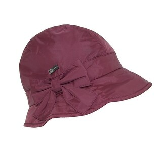 Betmar Women's Water Resistant Packable Lined Bucket Hat
