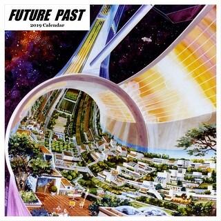2019 Vintage Future 2019 Wall Calendar, Fantasy Art by Restrospect Group