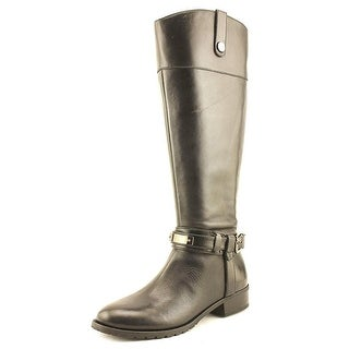INC International Concepts Womens fabbaa Leather Round Toe Knee High Fashion ...