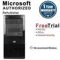 HP Pro 3130 Computer Tower Intel Core I5 650 3.2G 4GB DDR3 1TB Windows 10 Pro 1 Year Warranty (Refurbished) - Black