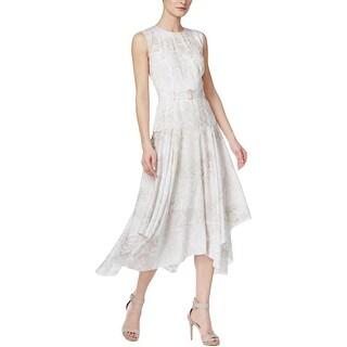Calvin Klein Womens Cocktail Dress Sleeveless Pullover