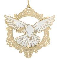 ChemArt 58271 Christmas Dove Ornament