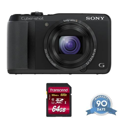 Sony Cyber-shot DSC-HX30V Digital Camera - with Memory Card -
