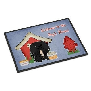 Carolines Treasures BB2861JMAT Dog House Collection Pekingnese Black Indoor or Outdoor Mat 24 x 0.25 x 36 in.