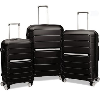 Samsonite Freeform HS Spinner 3 Piece Set, Black