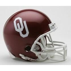 Oklahoma Riddell Mini Football Helmet