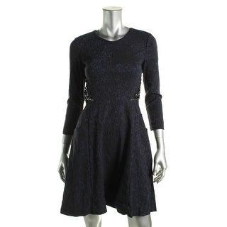 Rachel Rachel Roy Womens Embellished Pattern Party Dress - 4