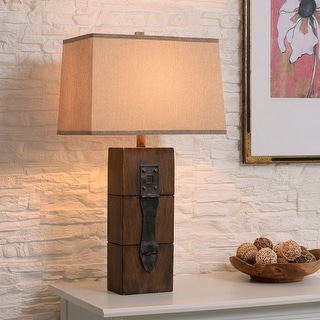 Link to Jarvis 30-inch Wood Grain Table Lamp Similar Items in Table Lamps