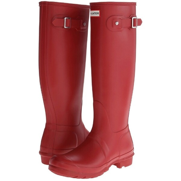Shop Hunter Women's Original Tall Rain Boots (Military Red