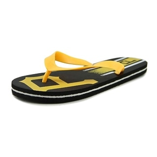 Forever Collectibles MLB Flip Flops Youth Synthetic Yellow Flip Flop Sandal